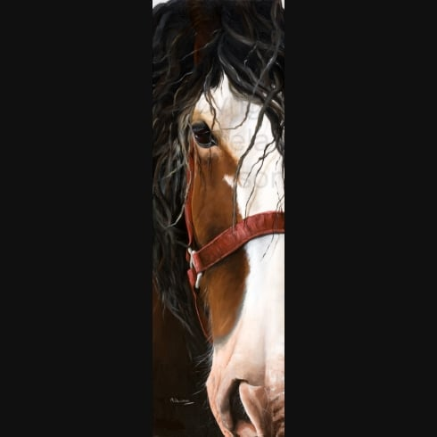 Angela Davidson Art Heavy Horse 3